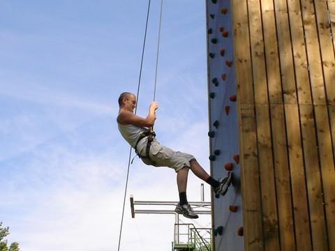 klimtoren en abseilen