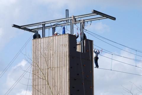 klimmen en abseilen